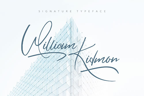 William Kidmon Free Font