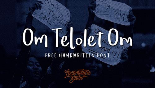 Om Telolet Om - Free Font