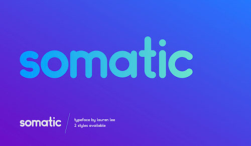 Somatic Free Font