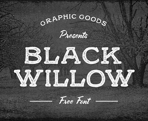 Black Willow Free Hipster Font
